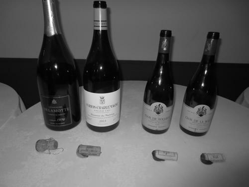 北海道で飲んだ高級ワイン